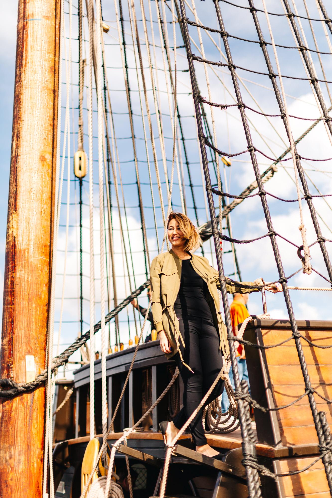 Maritime Museum San Diego #SanSalvador #ship #pirateship #SanDiego