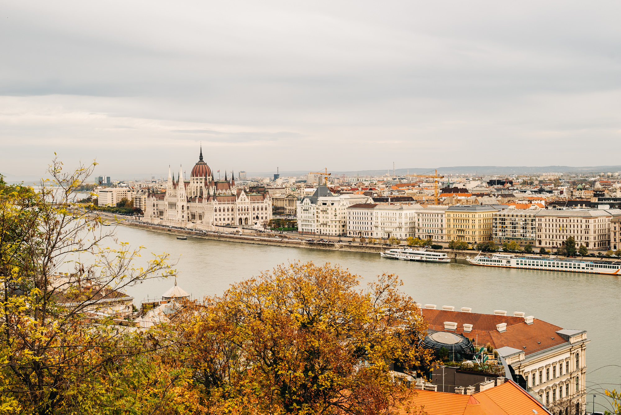 View of Pest from the Buda side