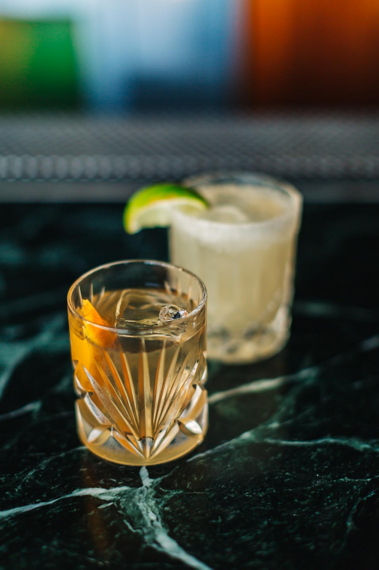 The Rusy Nail - Japanese Whisky, 15 YR Drambouie, Lemon Twist