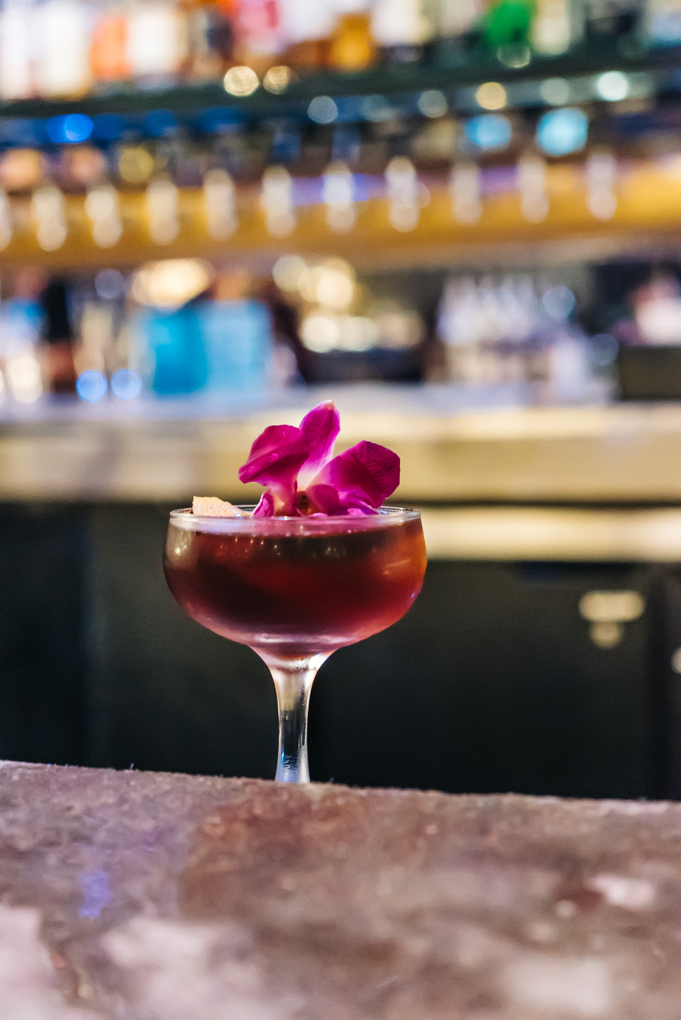 Japanese to English Cocktail - The Flagship of Cloak & PEtal
