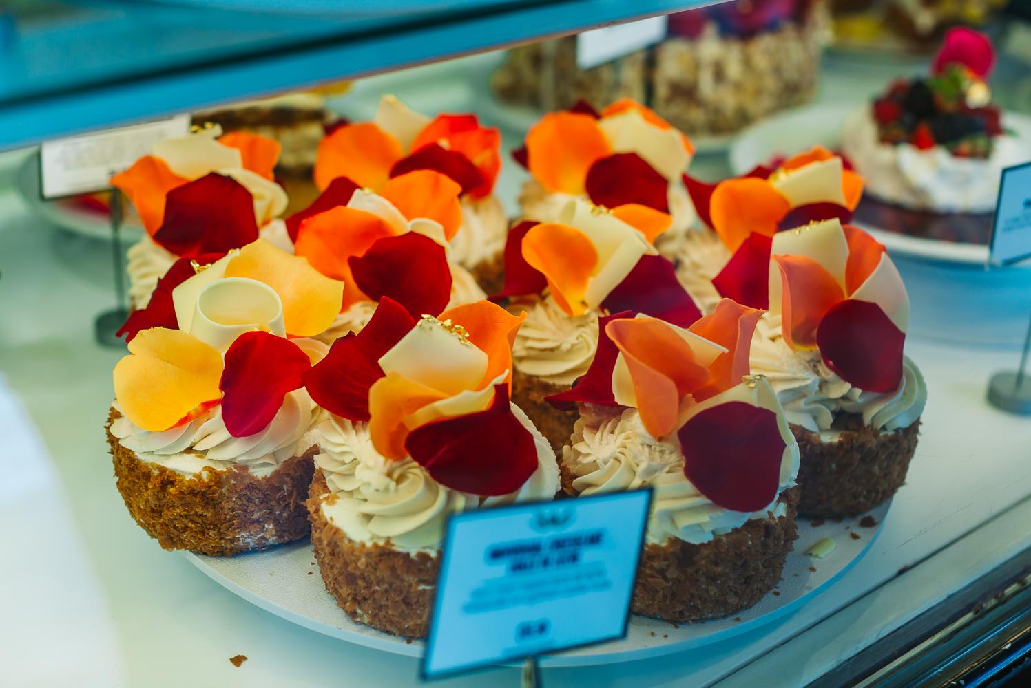 Beautiful desserts at Extraordinary Desserts