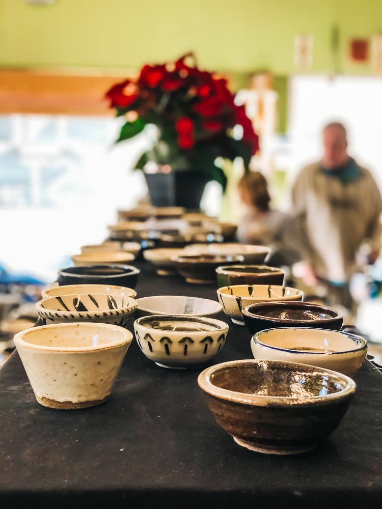 Ceramic Bowls at   San Diego Ceramic Connection