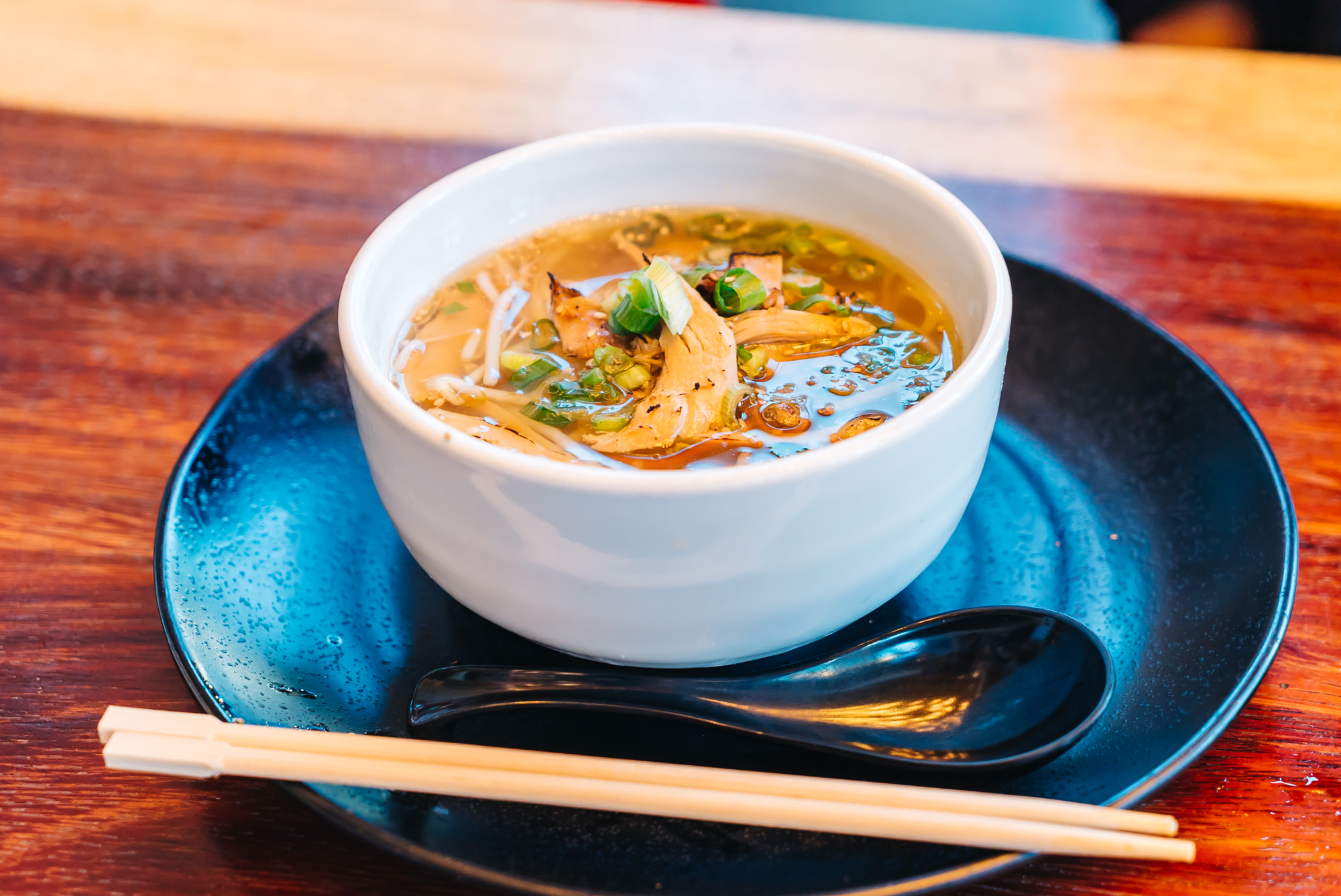 "Original Signature Chicken Ramen: By Chef Junya Watanabe ""Handcrafted noodles"""
