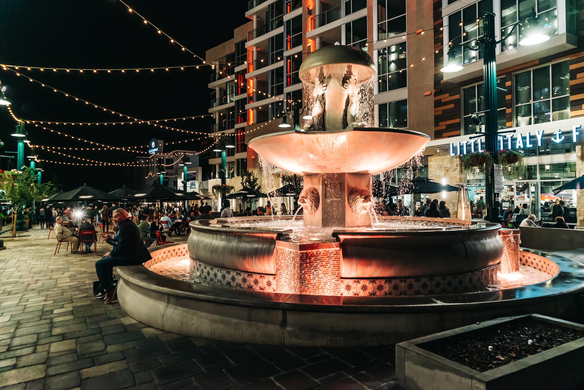 Piazza delia Famiglia Little Italy San Diego #LittleItalySD