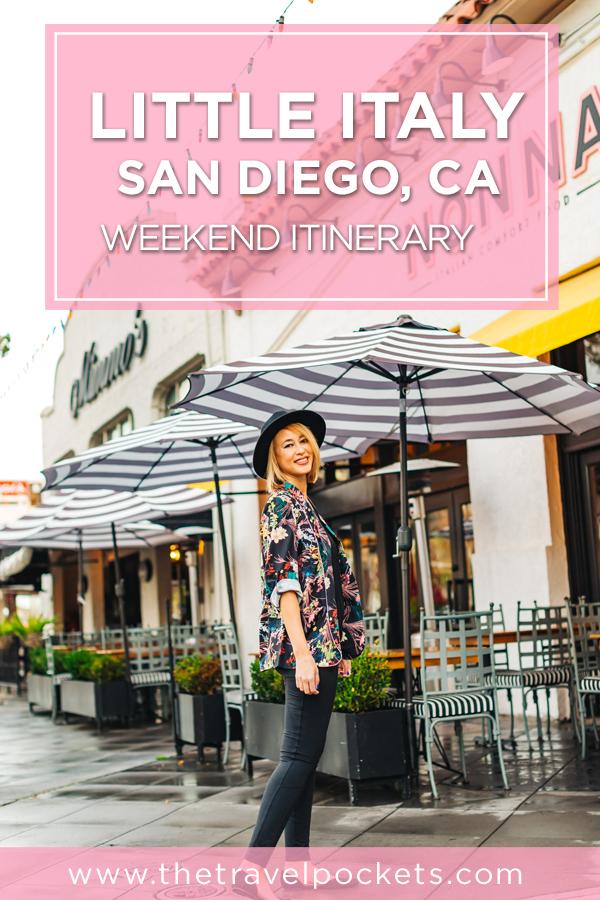 Little Italy San Diego Itinerary #LittleItaly #SanDiego #LittleItalySD