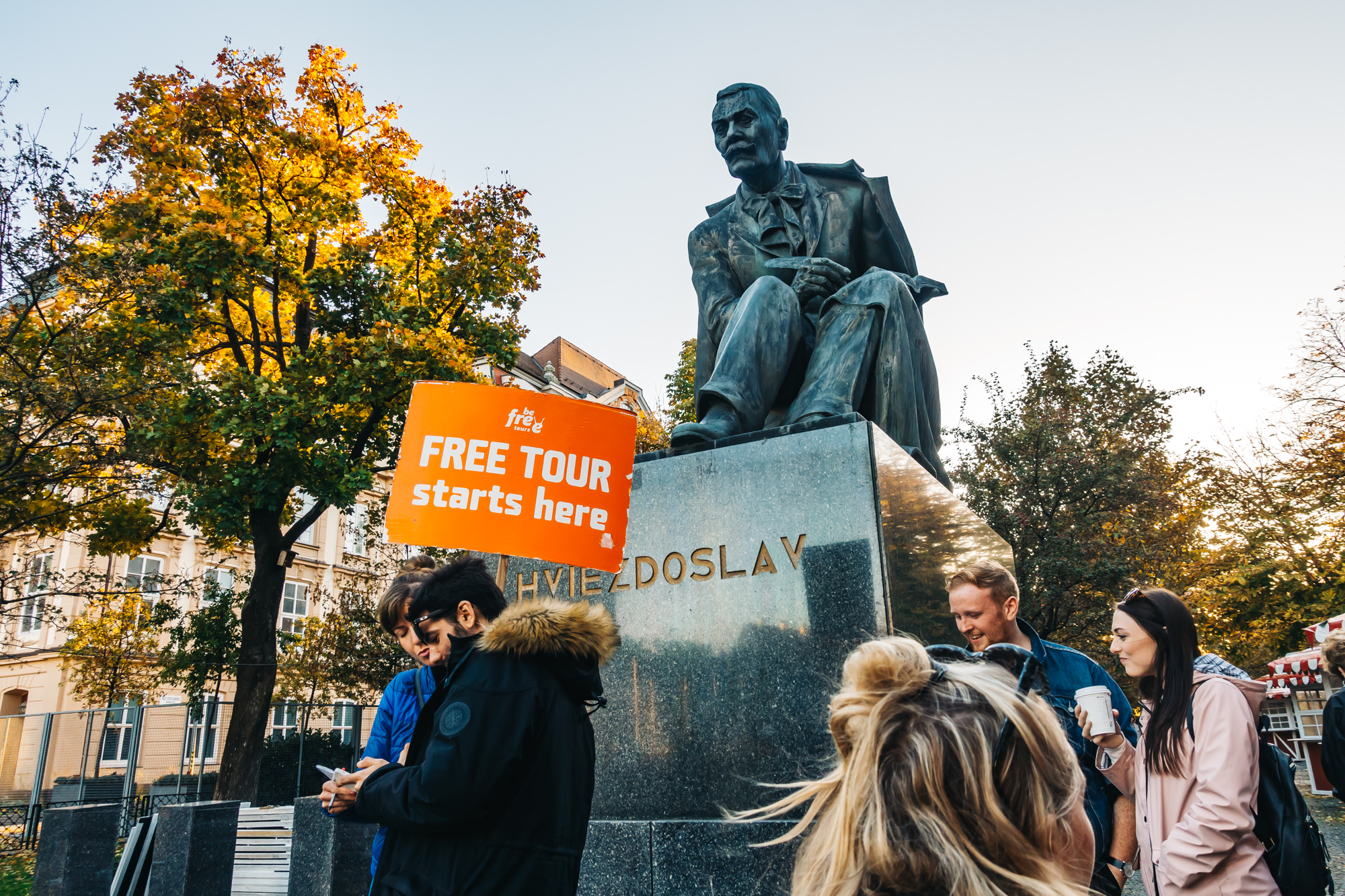 Take advantage of the free tour of Bratislava from Be Free Tours