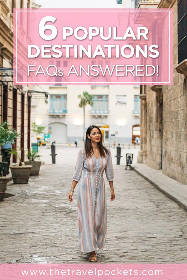 Popular Destinations #Iceland #Barcelona #Cuba