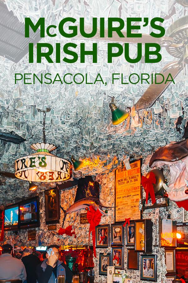 McGuire's Irish Pub Pensacola Florida #McGuires #IrishPub #Pensacola