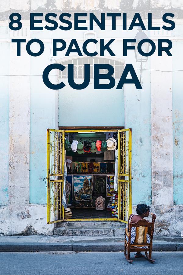8 Essentials to Pack for Cuba #Havana #Cuba #Caribbean