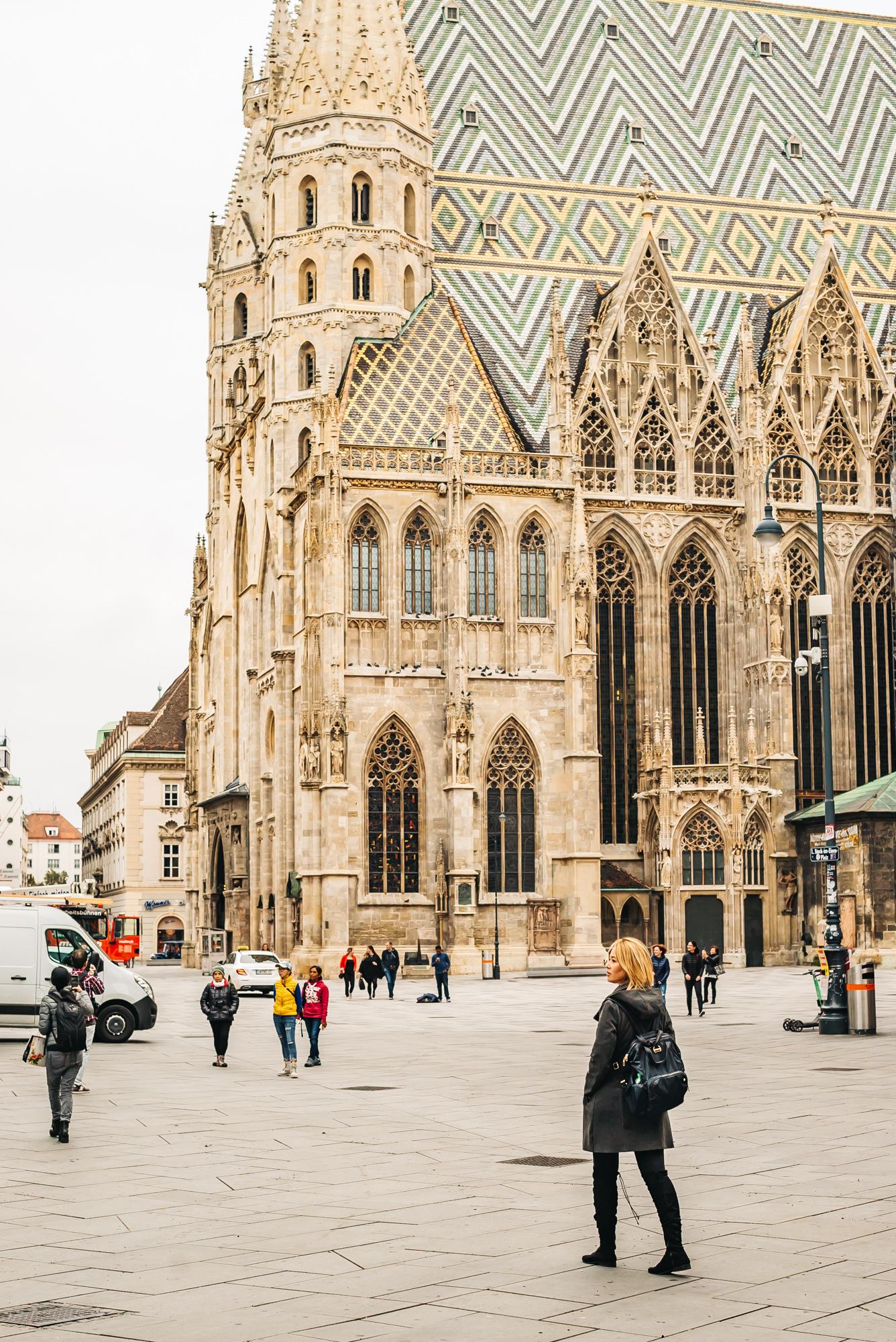 The iconic St. Stephen's Cathedral in Vienna