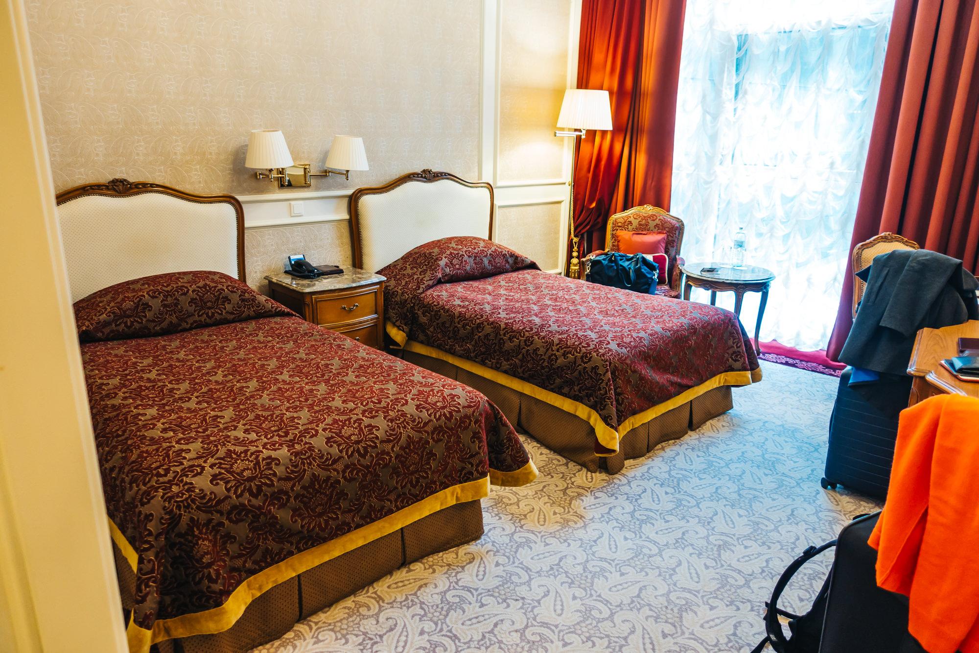 Superior room at Grand Hotel Wien in Vienna