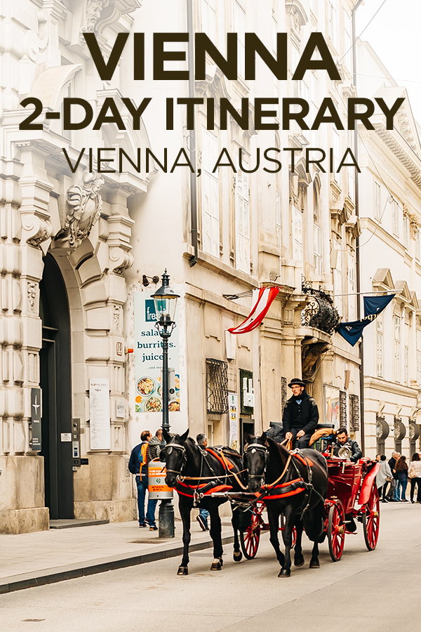 2 Day Itinerary in #Vienna #Austria #Europe