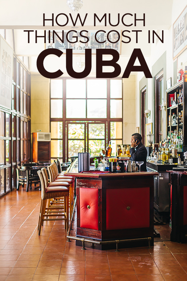 How Much Things Cost in #Cuba #Havana #Caribbean