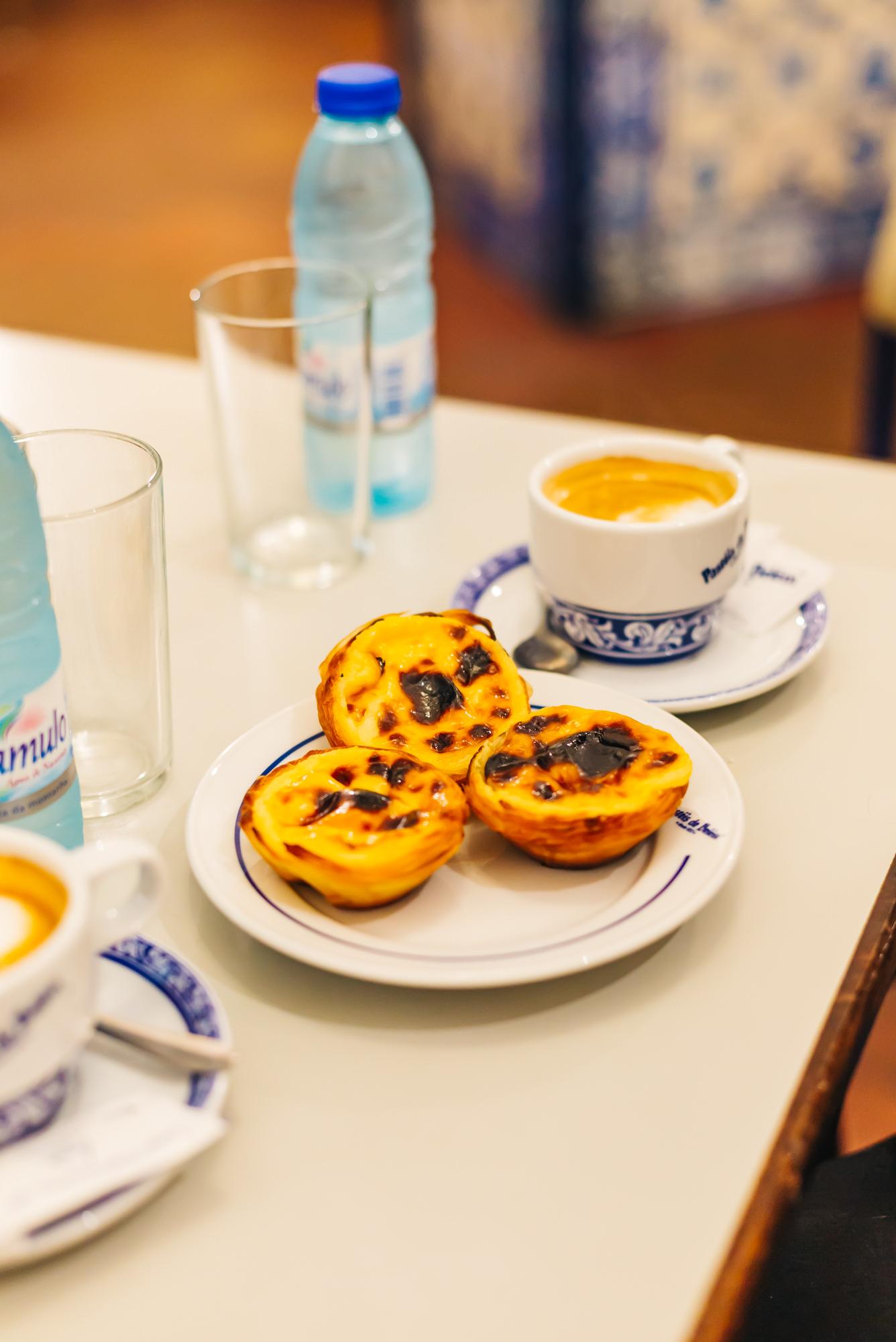 Pastel de nata at Pasteis de Belem