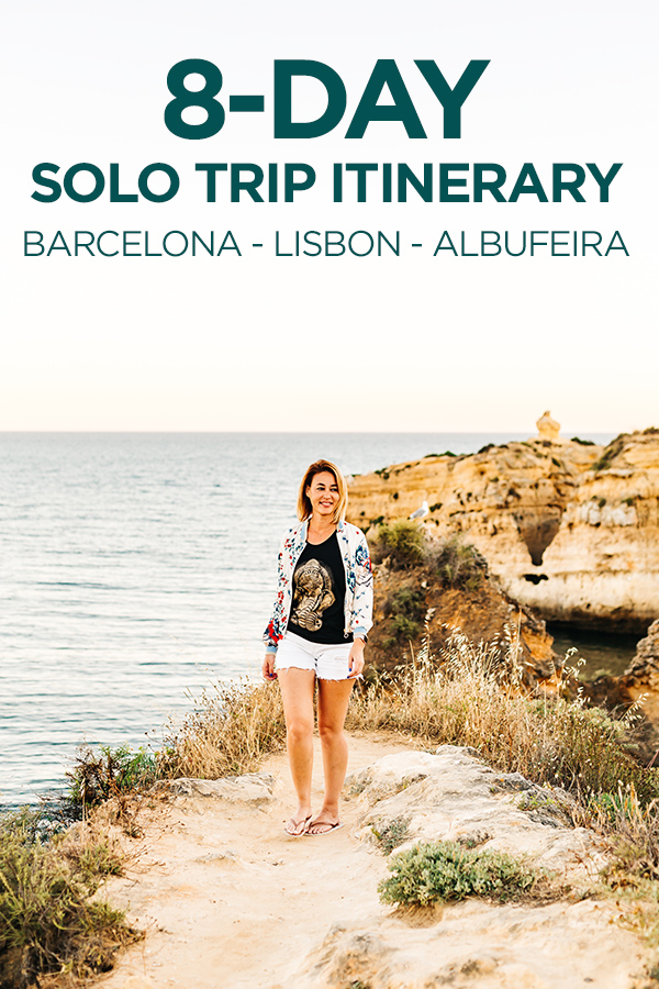 8-Day Solo Trip Itinerary #Barcelona #Lisbon #Europe