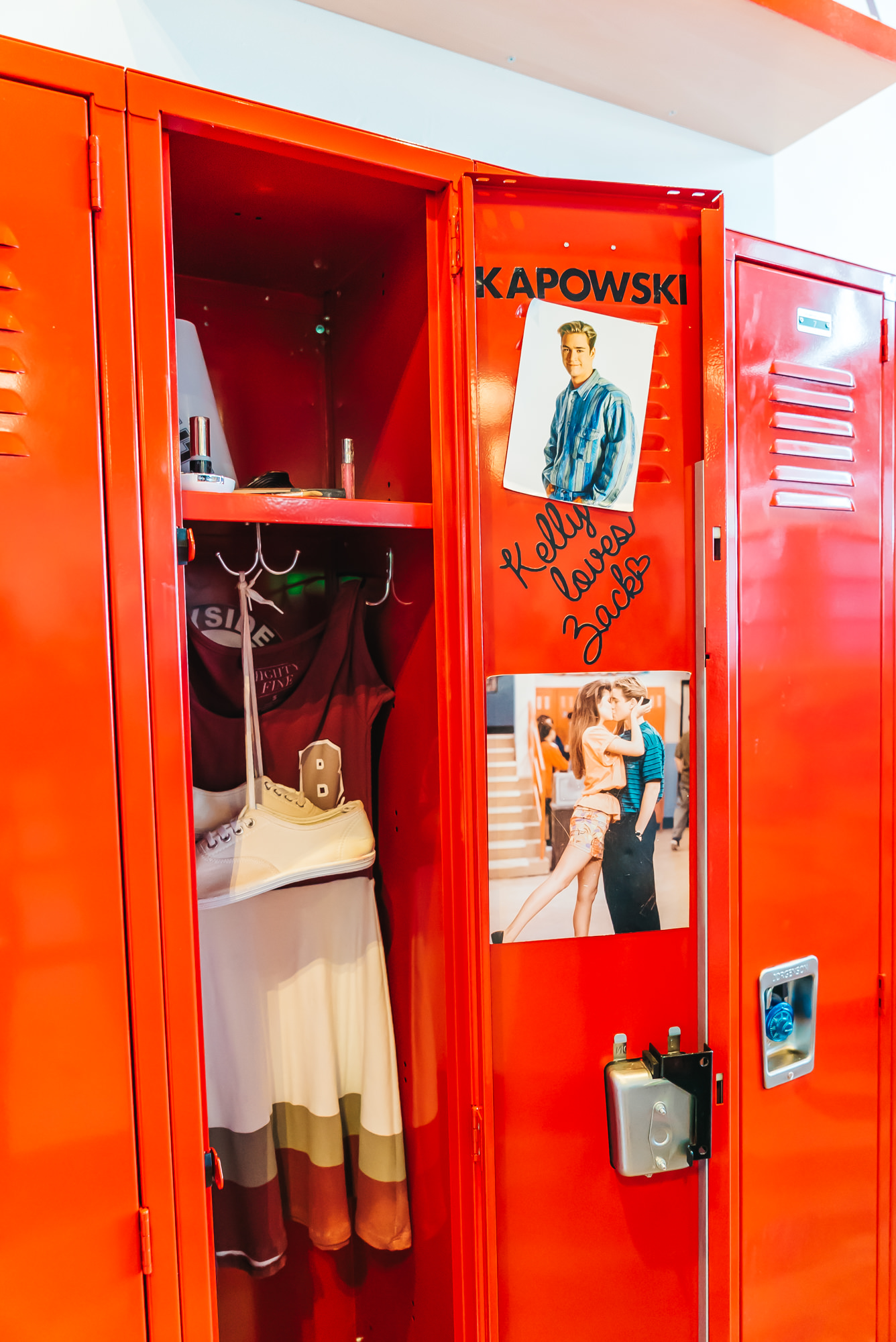 Kelly Kapowski's Locker