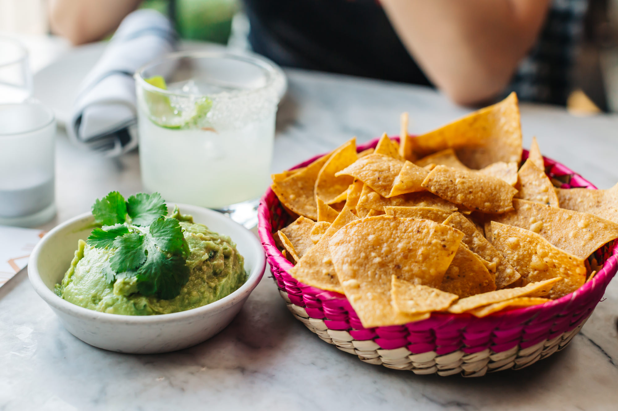 Guacamole with house-made chips