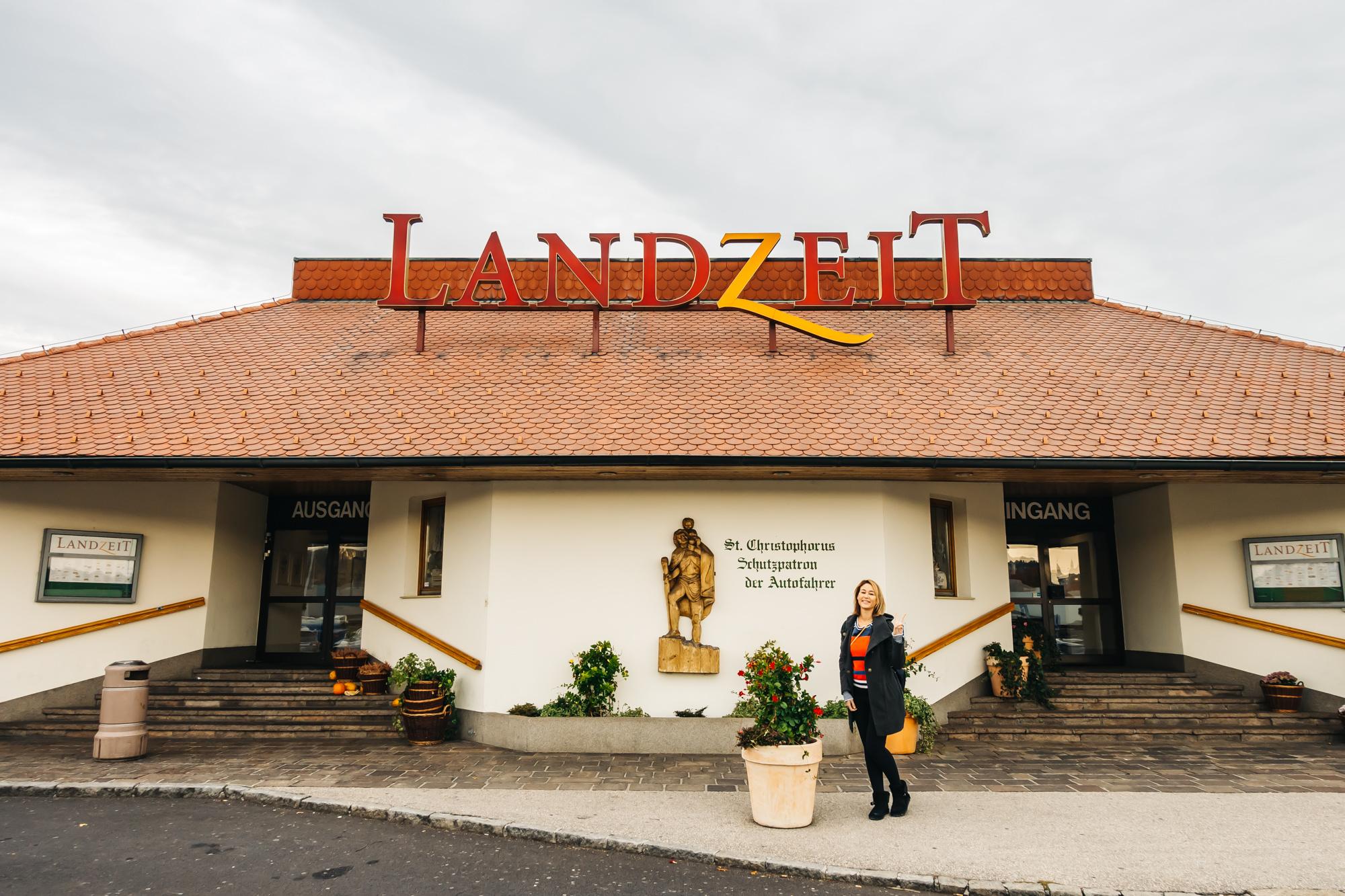 Landzeit rest stop in Austria