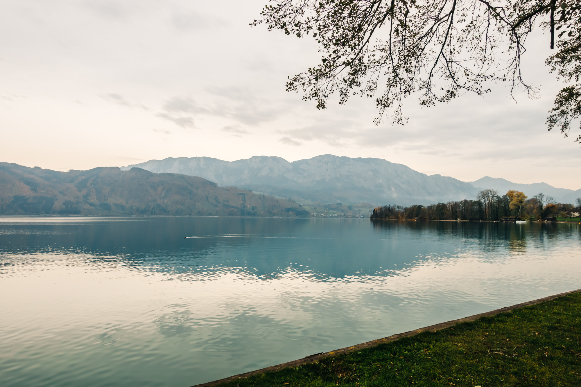 Our second stop at Lake Attersee