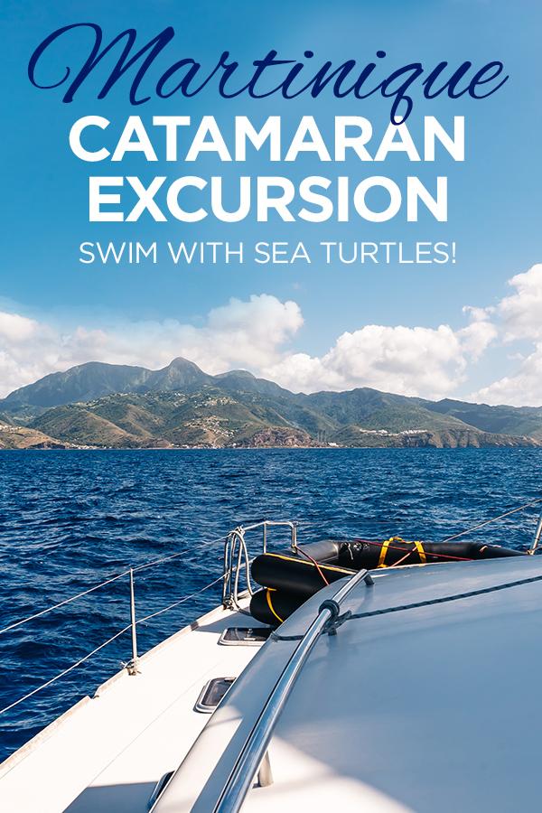Martinique Catamaran Excursion #Martinique #Caribbean #seaturtles
