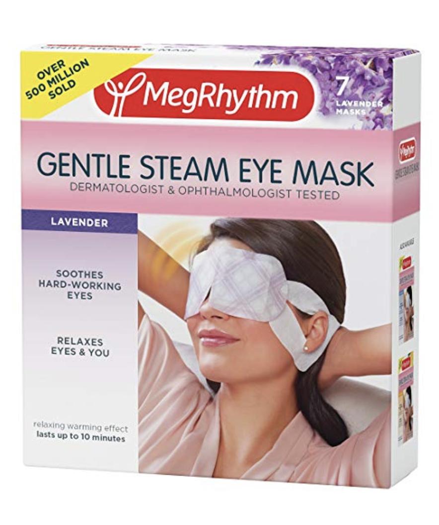 MegRhythm Gentle Steam Eye Mask