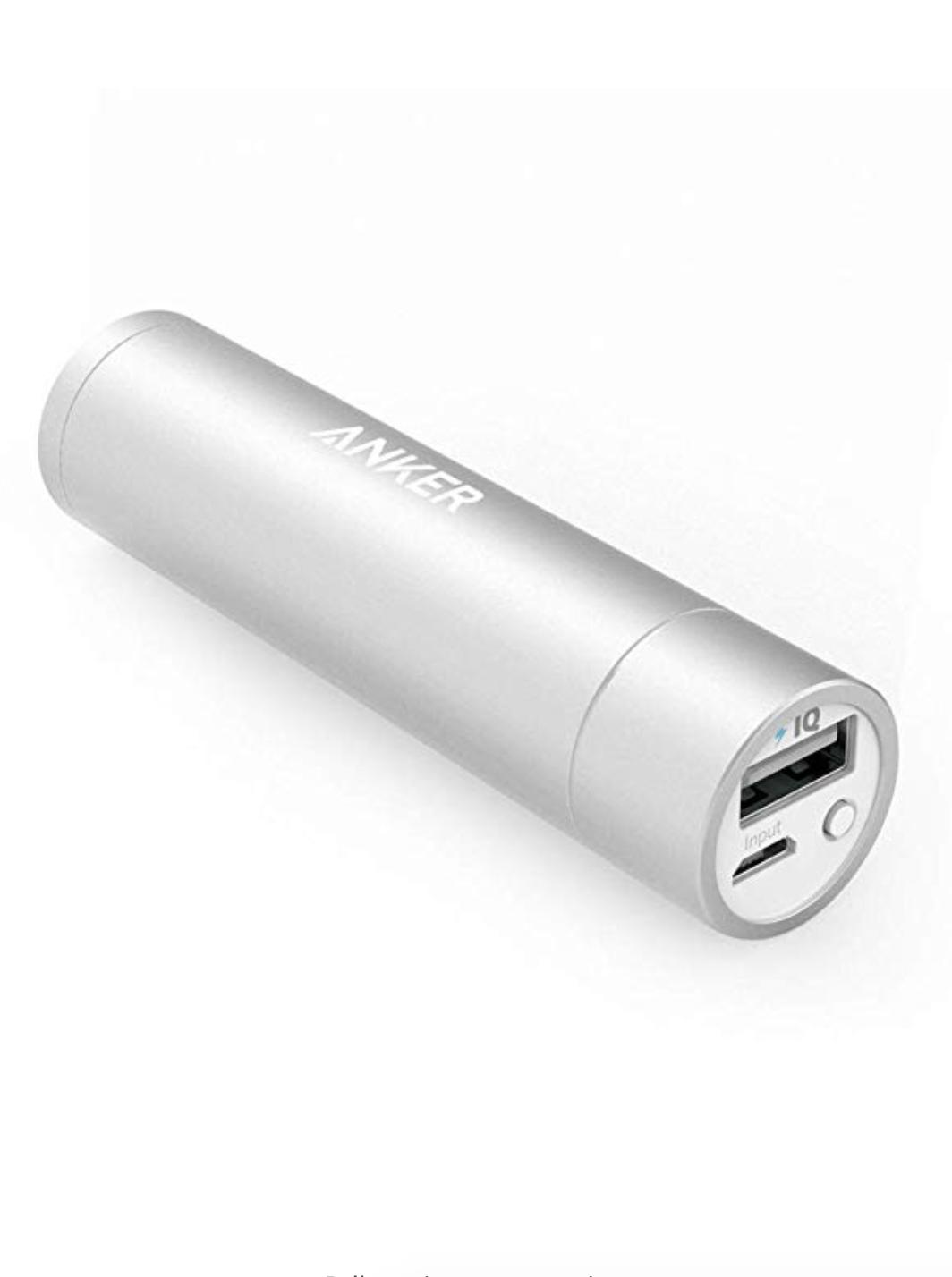Anker PowerCore+ Mini, 3350mAh Lipstick-Sized Portable Charger