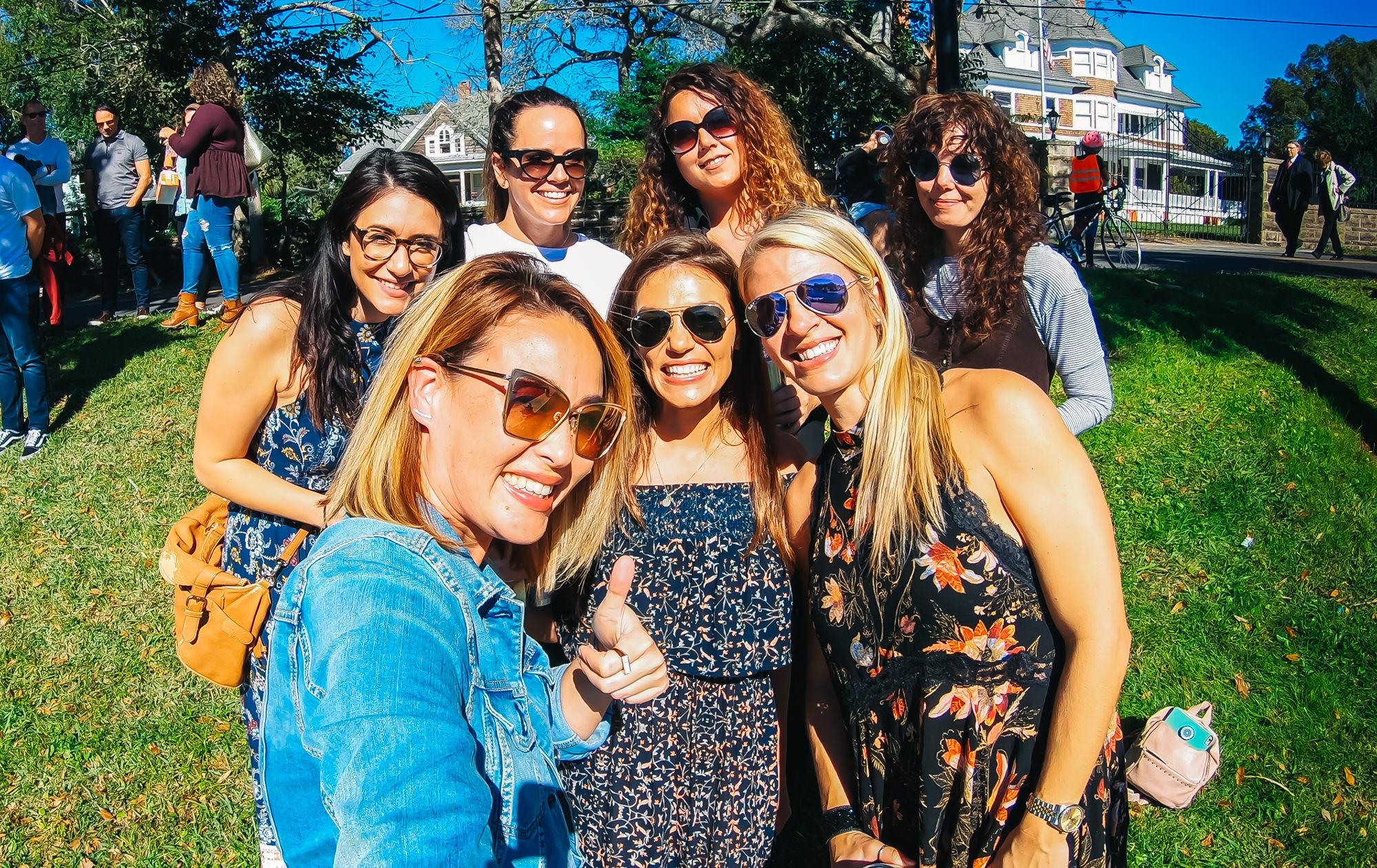 Lovely girls outing in Tarpon Springs