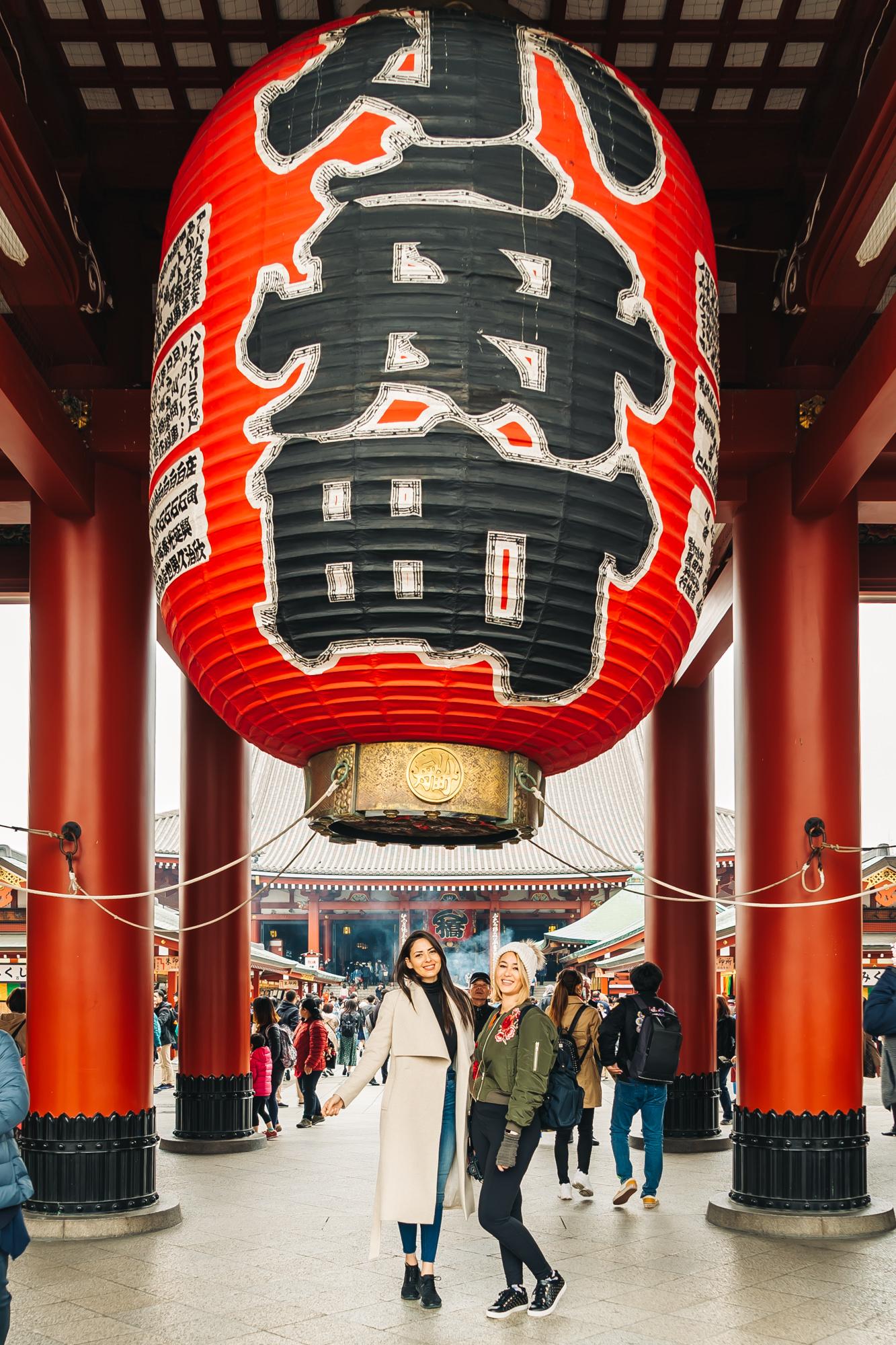 The second gate at Sensoji Temple