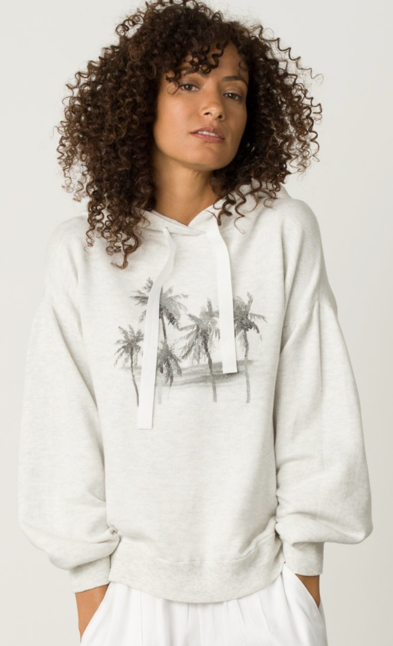 Margaret O'Leary Palm Tree Hoodie