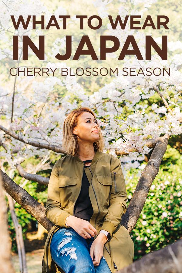 What To Wear in Japan During Cherry Blossom Season #Japan #CherryBlossoms #Sakura