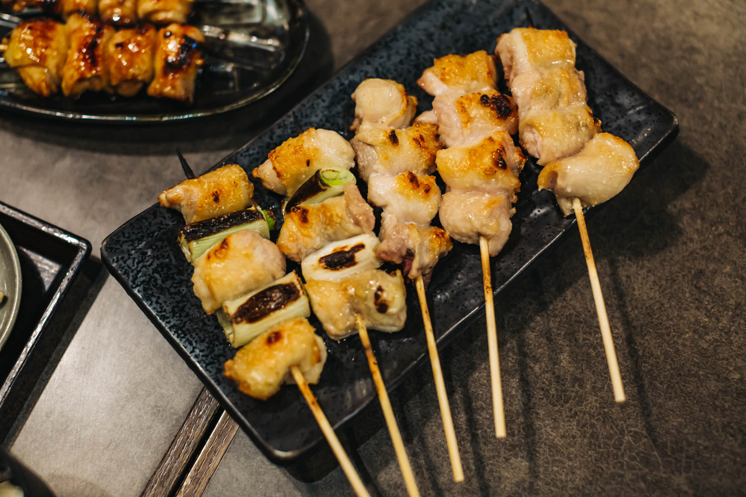 Chicken & Japanese Scallion Yakitori
