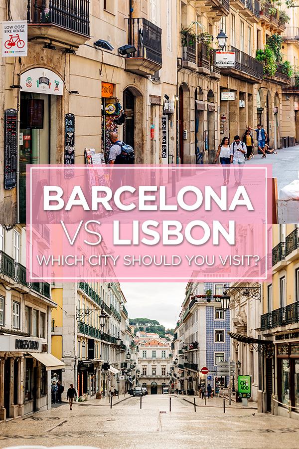 Barcelona or Lisbon #Barcelona #Lisbon #Europe