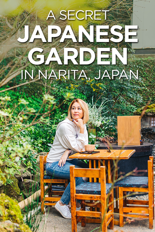 A Secret Japanese Garden #Narita #Japan #greentea