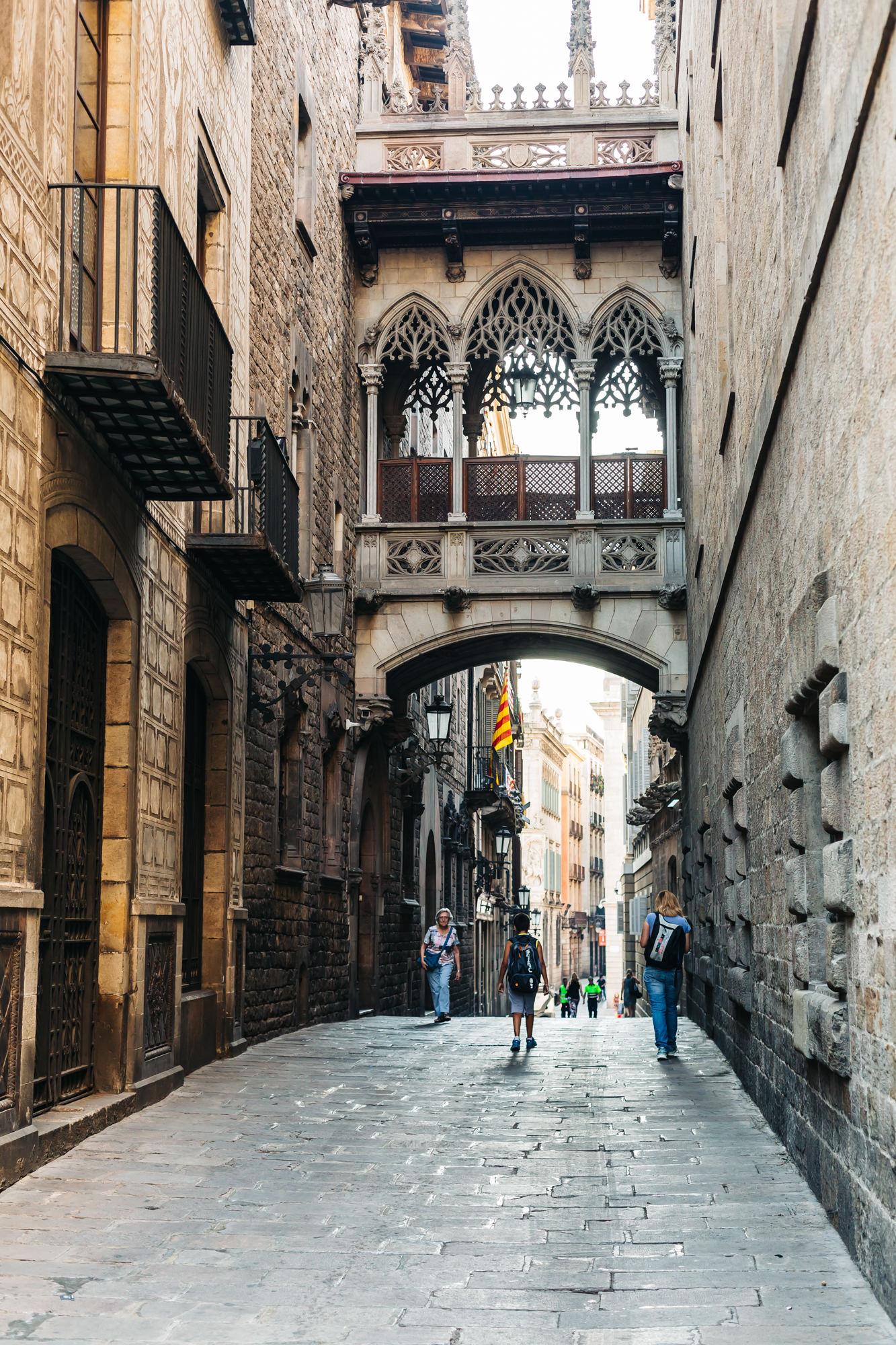 El Pont del Bisbe - Barcelona, Spain