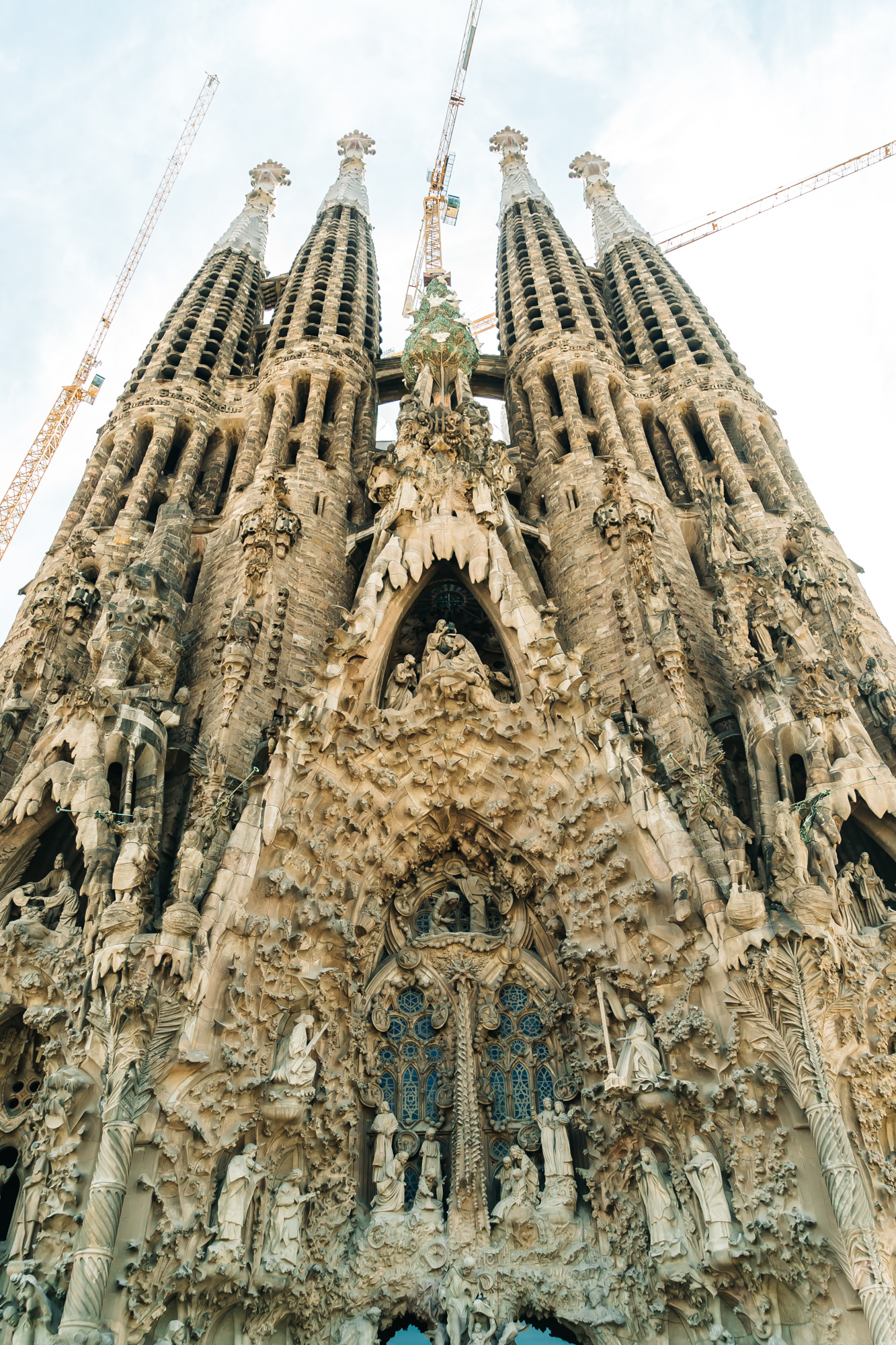 La Sagrada Familia #Barcelona #Spain