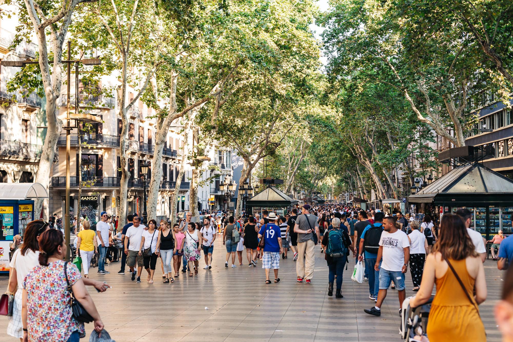 Las Ramblas #Barcelona #Spain
