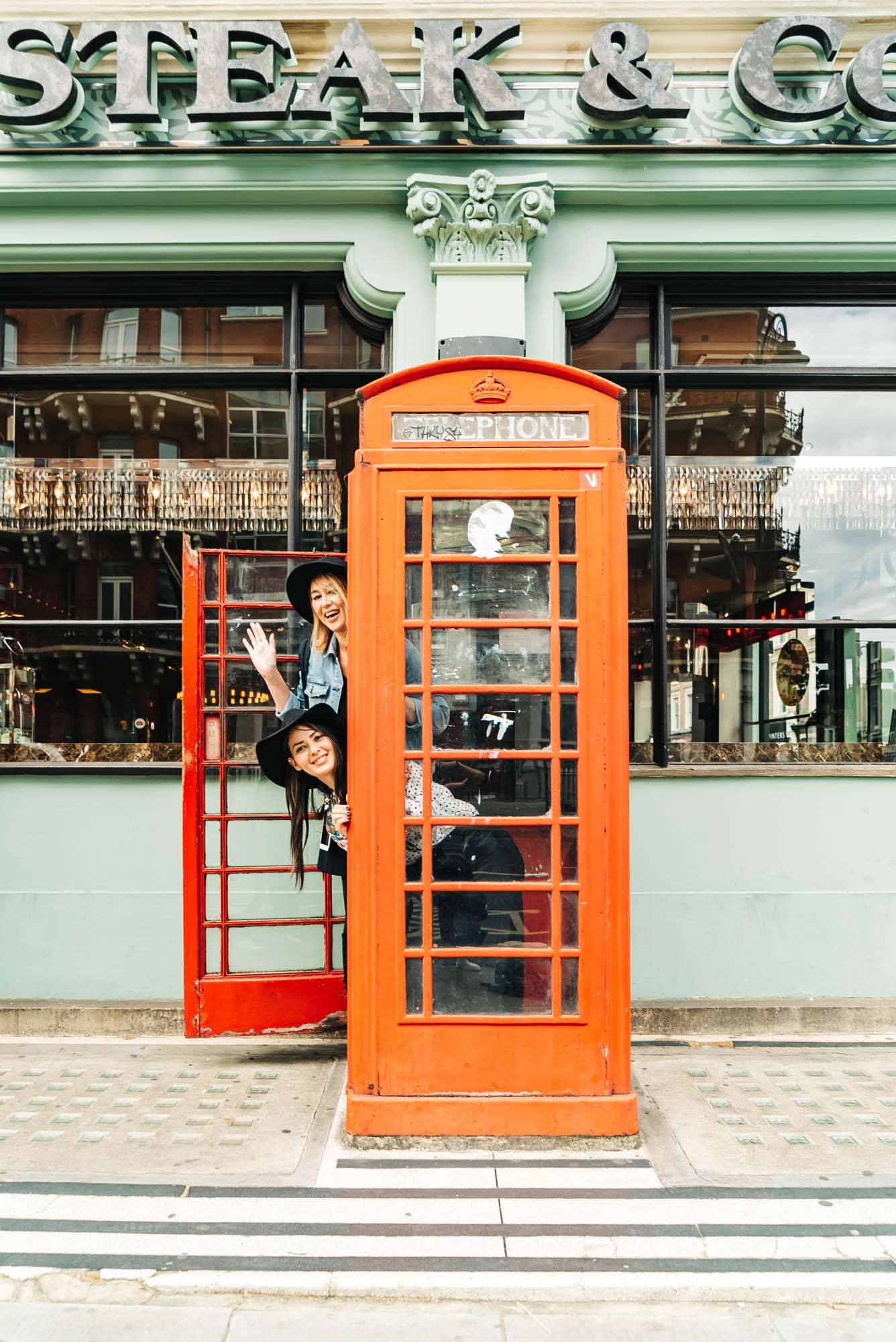 We just can't resist taking photos in these London booths