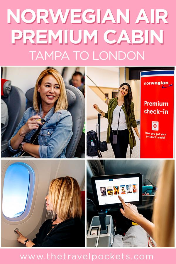 Norwegian Air Premium #NorwegianAir #PremiumClass #FlyNorwegian