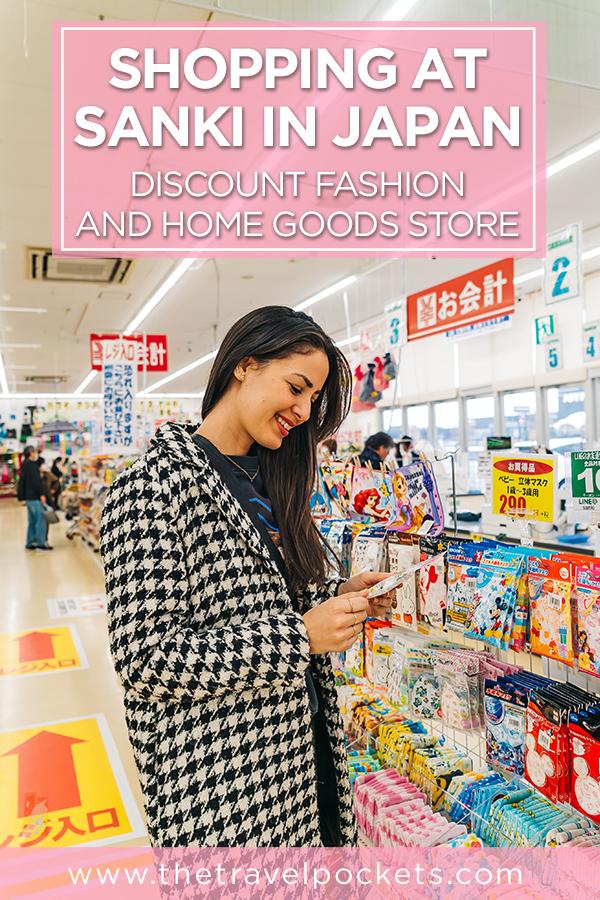 Japanese Discount Store #Sanki #Japan #discountstore