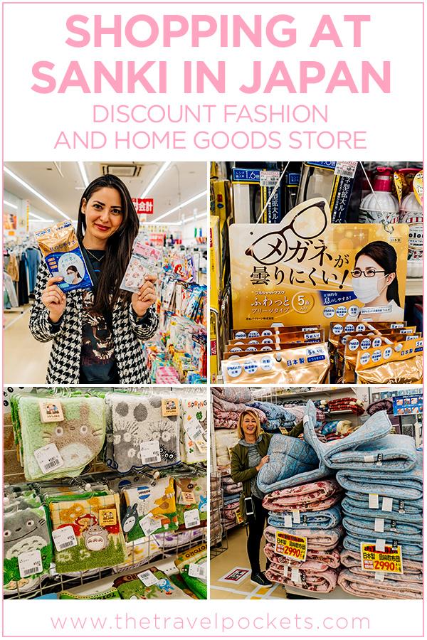 Japanese Home Goods Store Sanki #Japan #discountstore