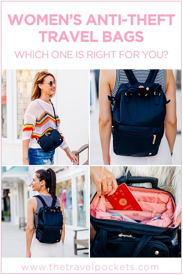 #Pacsafe Women #Antitheft Travel #Backpack