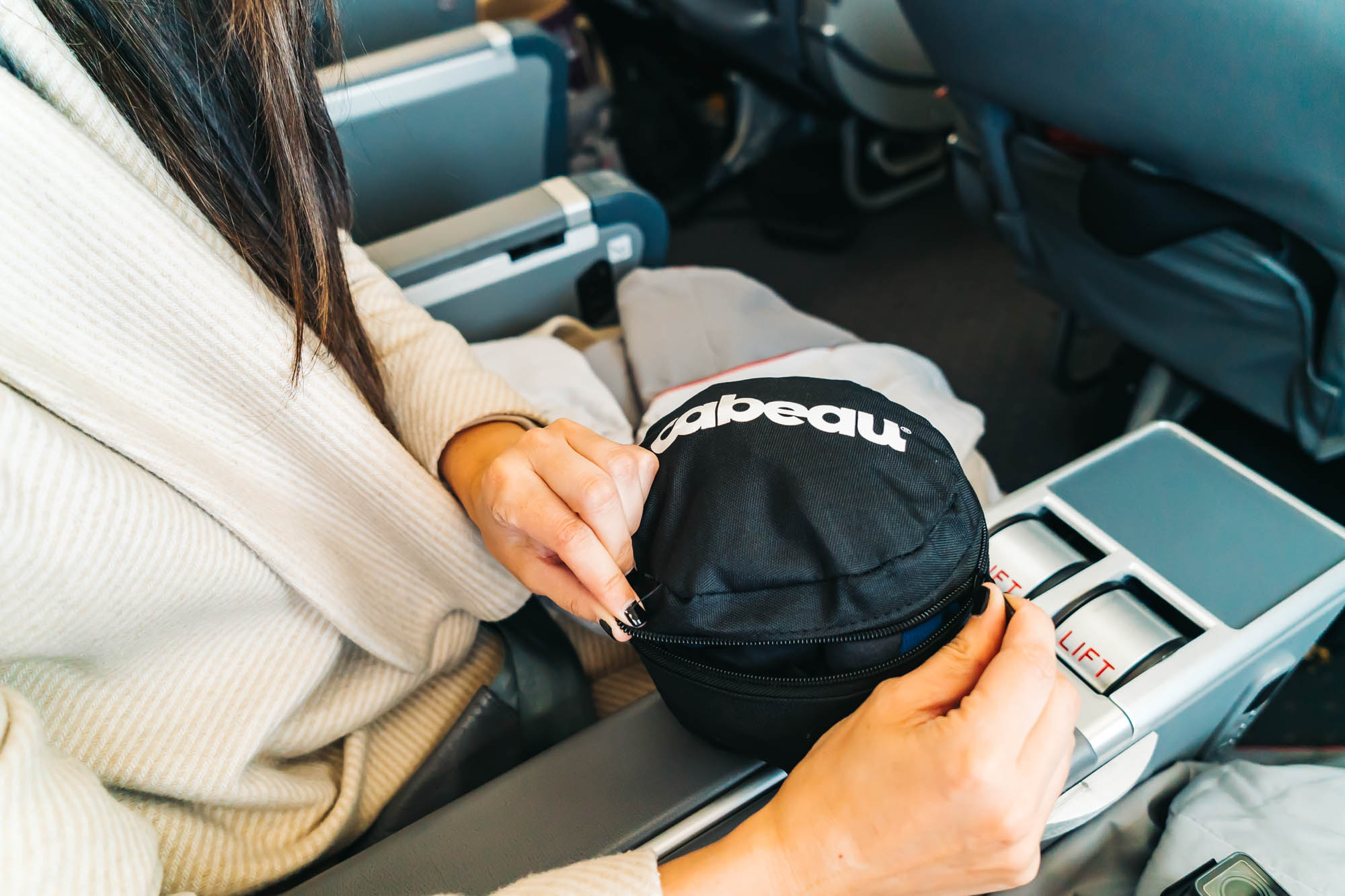 Our favorite travel case that comes with the pillow