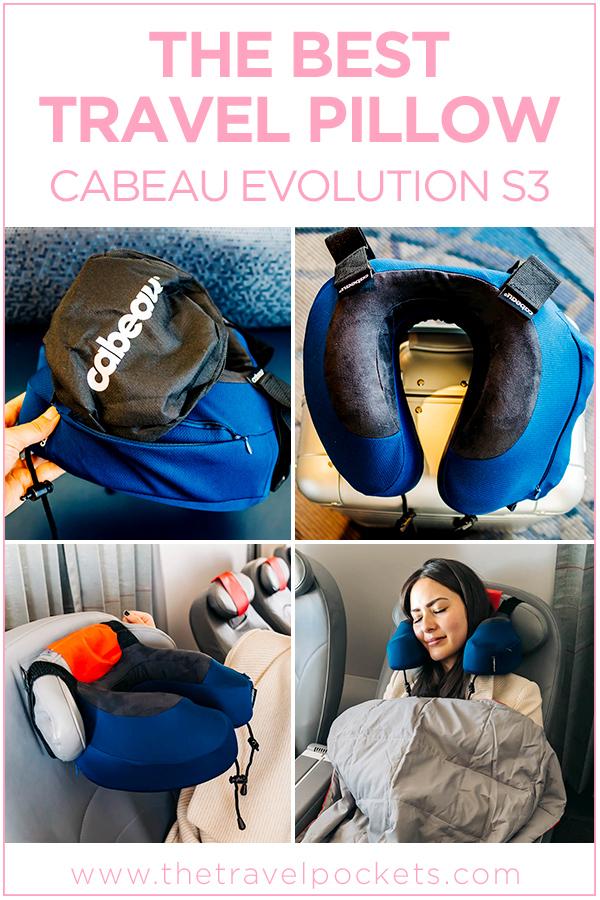 Cabeau Travel Pillow Evolution S3 #cabeau #travelpillow