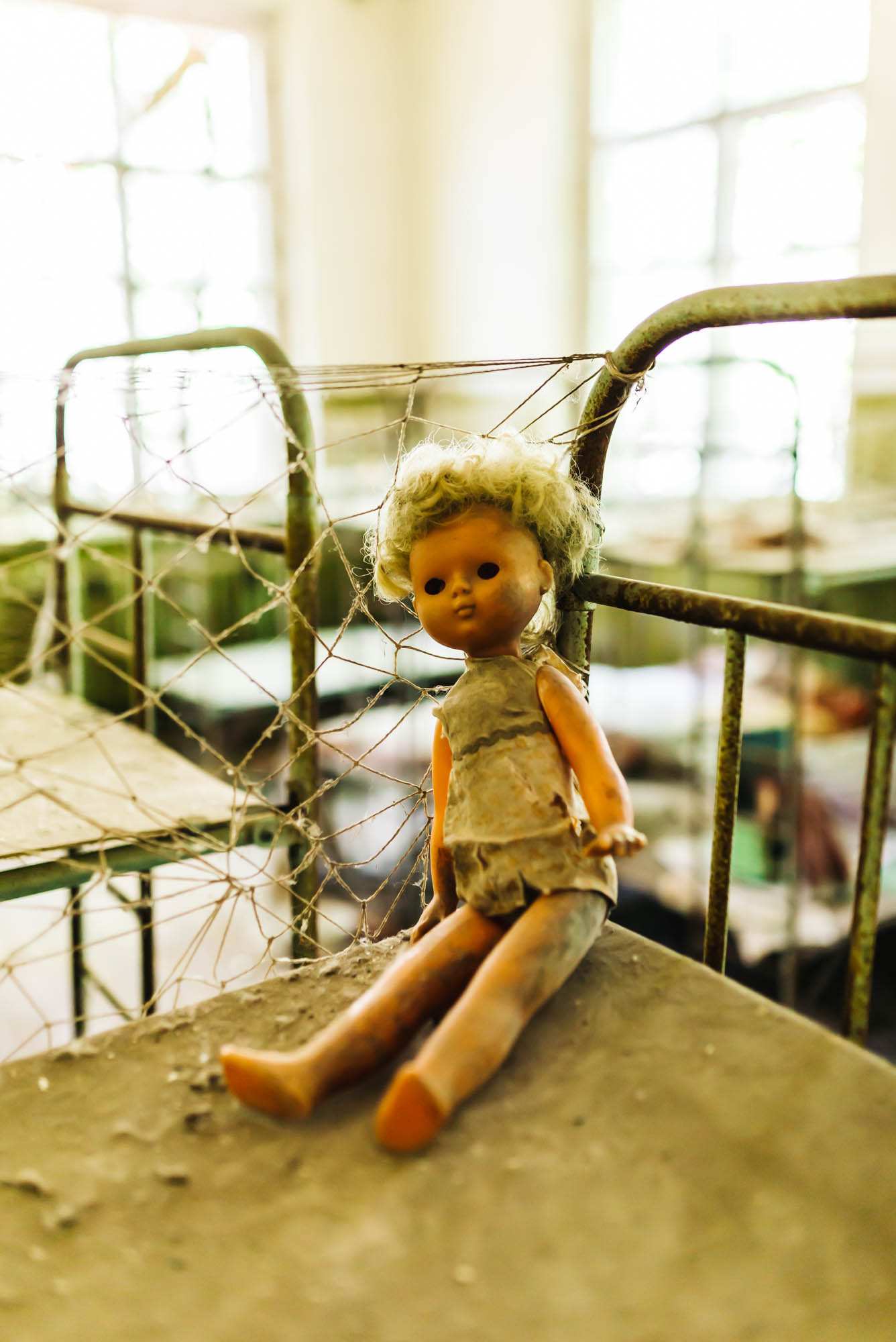 The creepy dolls of Chernobyl