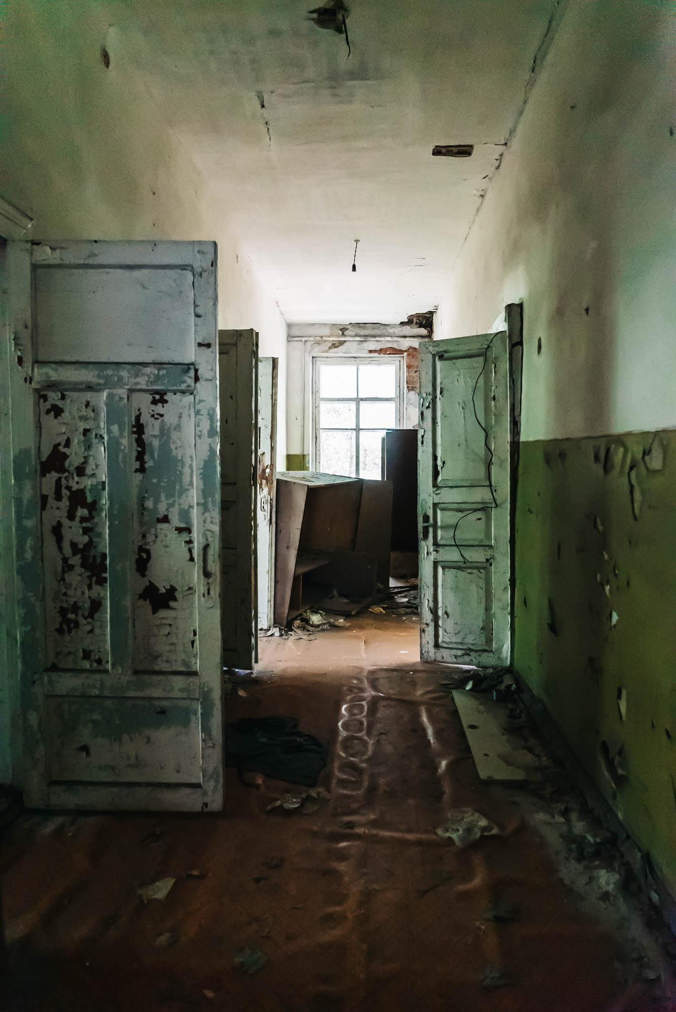The hallway of the nursery