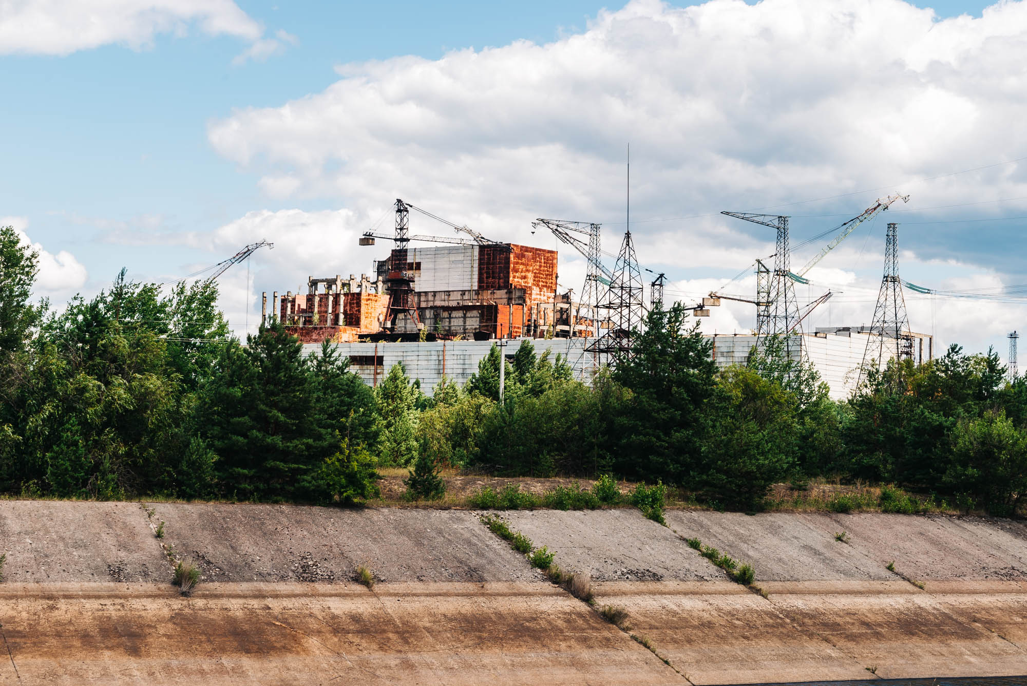 Reactor No.5 in Chernobyl that was never completed