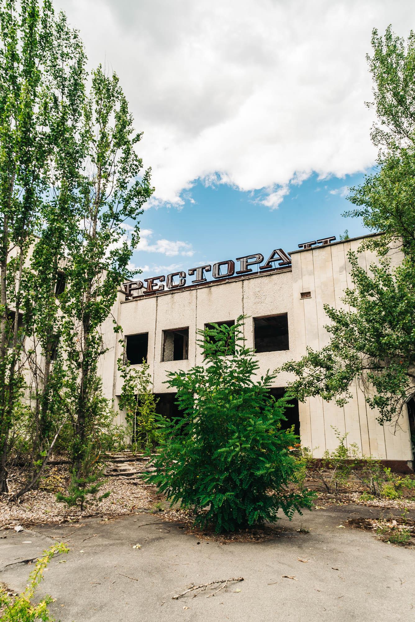 Restaurant in Pripyat