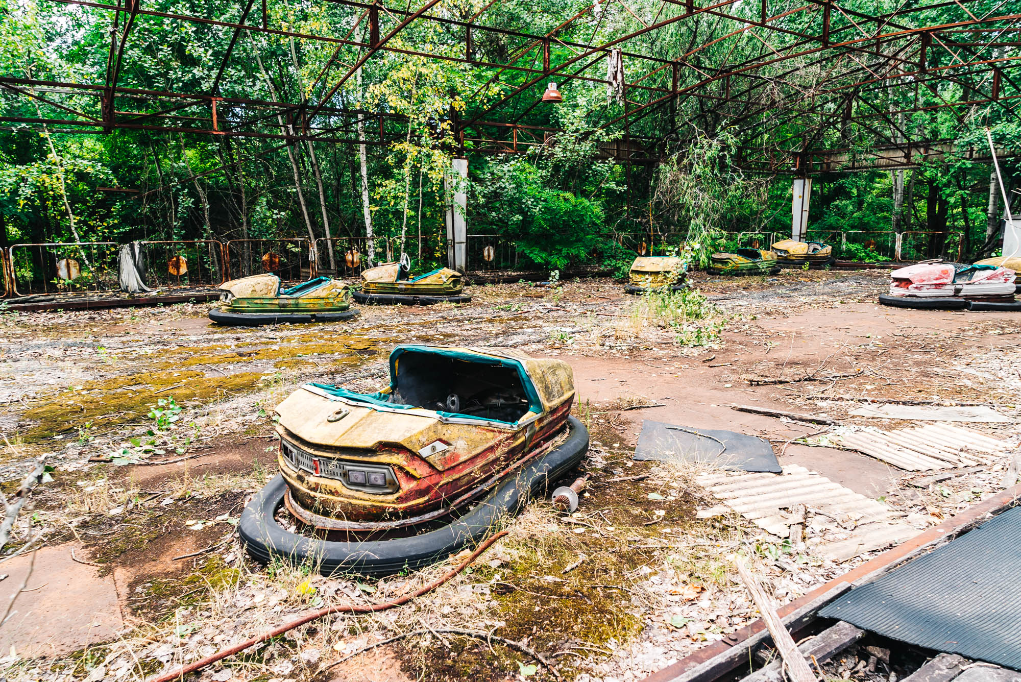 The Go Karts of Pripyat that were never used