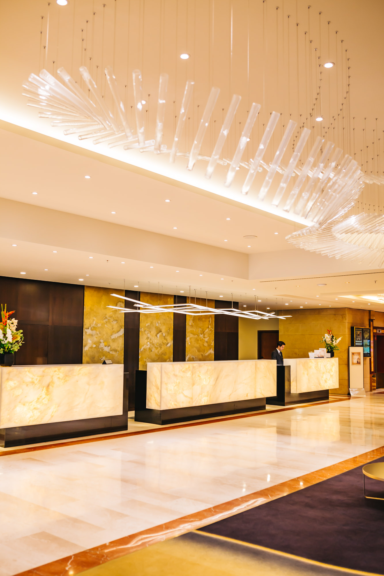 InterContinental Prague Lobby