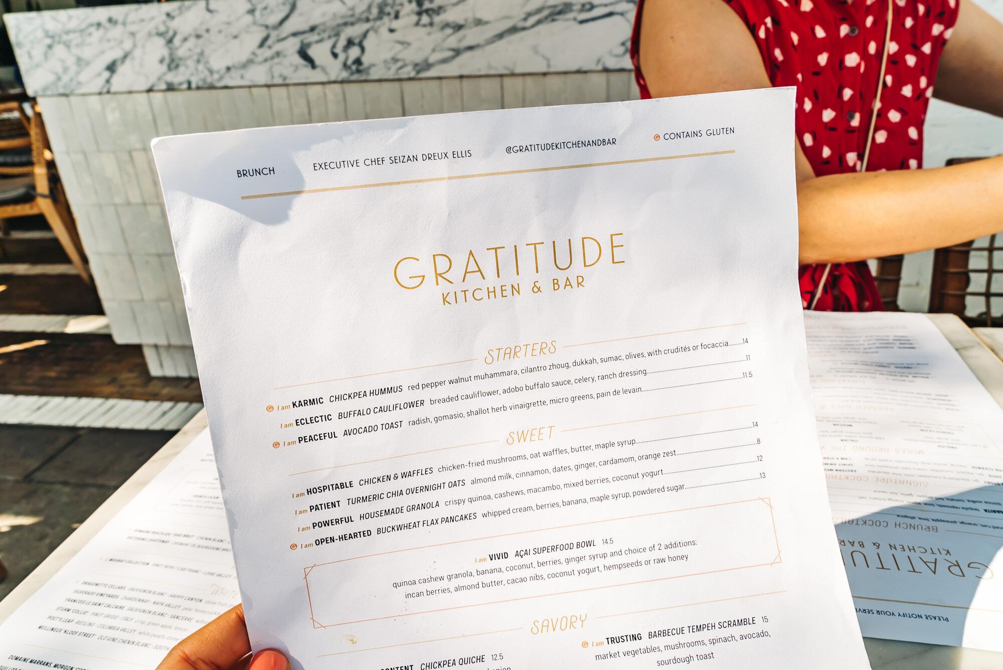 Cafe Gratitude Kitchen & Bar + www.thetravelpockets.com